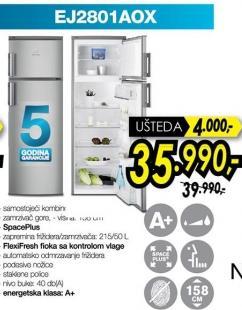 Kombinovani frižider Ej2801aox
