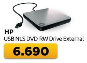 External USB NLS DVD-RW Drive