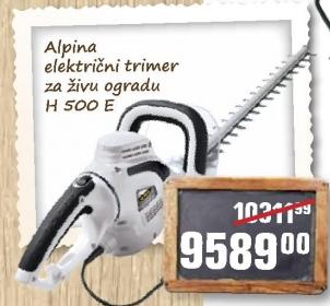 Električni trimer za živu ogradu H 500 E