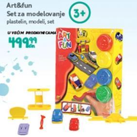 Igračka Set za modelovanje Art and fun