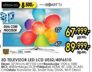 "Televizor LED 32"" Ue32f6510"