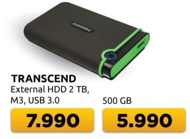 Eksterni hard disk M3 500GB