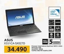 Laptop X551CA-SX027D