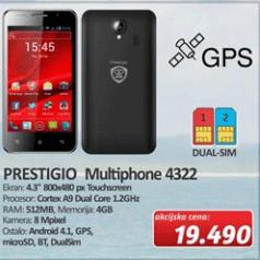 Mobilni Telefon Multiphone 4322