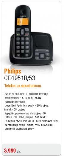 Telefon CD1951B/53