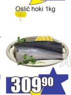Smrznuta riba oslić hoki