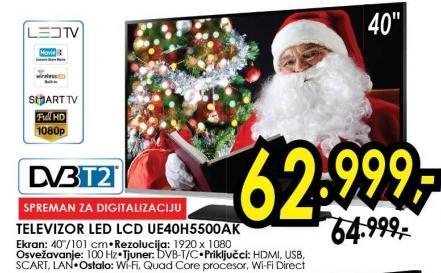 """Televizor LED 40"""" Ue40h5500ak"""