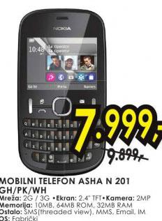Mobilni telefon Asha N 201 GH