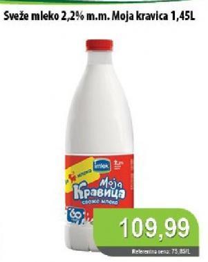 Sveže mleko 2,2% mm