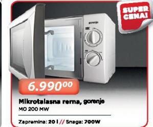 Mikrotalasna Rerna Mo200Mw