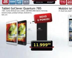 Tablet QUANTUM 785 W 16