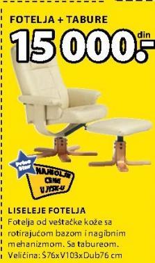 Fotelja Liseleje