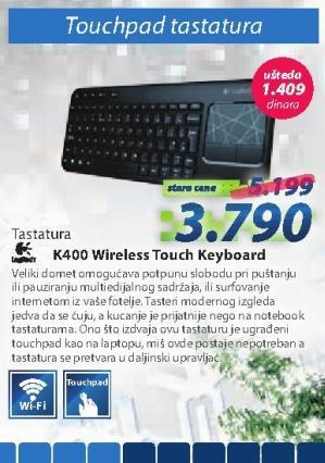Tastatura K400