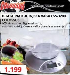 Digitalna vaga CSS-3200