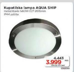 Lampa kupatilska , Aqua Ship