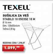 Sušilica za veš Stabilo 180503SE 18m, TEXELL