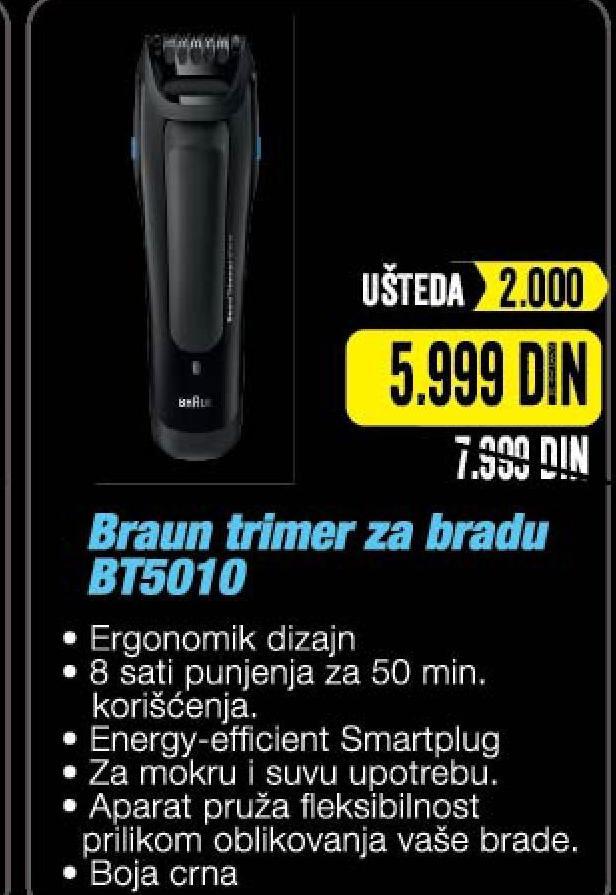 Aparat za brijanje BT5010