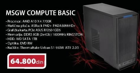 Računar MSGW Compute Basic