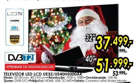 """Televizor LED 40"""" Ue40h5000ak"""