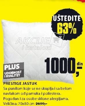 Jastuk Prestige