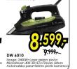 Pegla na paru DW 6010
