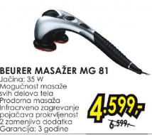 Masažer Mg 81