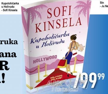 Knjiga Kupoholičarka u Holivudu