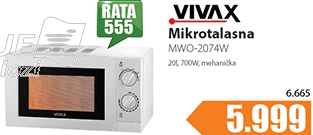 Mikrotalasna MWO-2074W