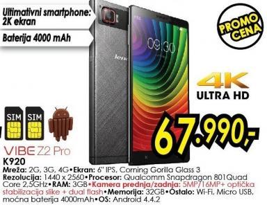 Mobilni telefon K920