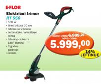 Električni trimer RT 550, E-flor