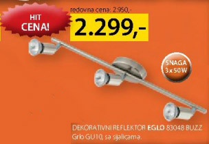 Dekorativni reflektor 83048 Buzz