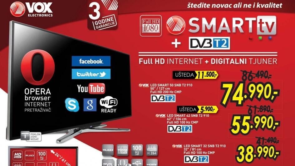 Televizor LED 50 SNB T2 910