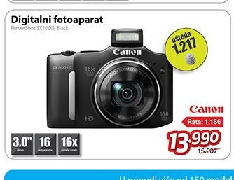 Digitalni foto-aparat PowerShot SX160IS