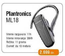 Bluetooth slušaliva Ml18