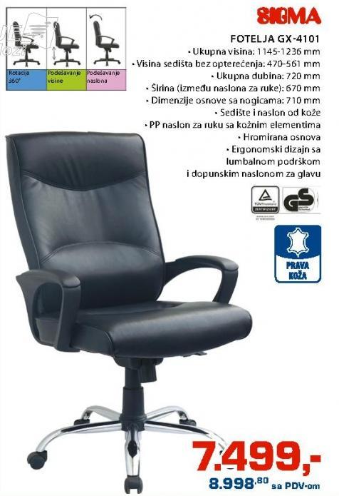 Fotelja Gx-4101