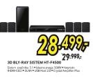 3D Blu-Ray Sistem HT- F4500