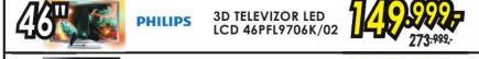 Televizor  3DLED LCD 46PFL9706K/02