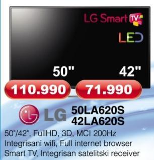 """Televizor LED 42"""" 42La620s"""