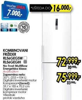 Kombinovani frižider Rl56gegih