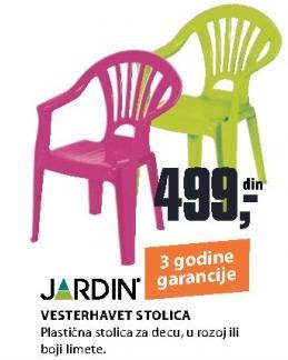 Baštenska stolica Vesterhavet Jardin