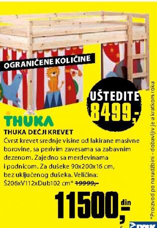 jysk deciji kreveti Akcija JYSK   JYSK, Dečiji krevet Thuka 21814 jysk deciji kreveti
