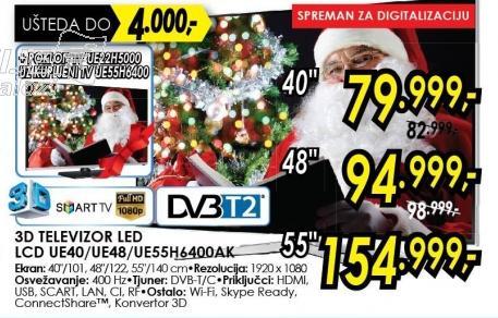 """Televizor LED 48"""" 3D Ue486400ak"""
