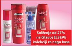 27% popusta na Elseve kolekciju za negu kose