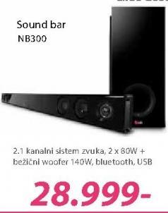 Zvučnici NB300