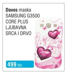 Maska Ljubavna srca i drvo Davos