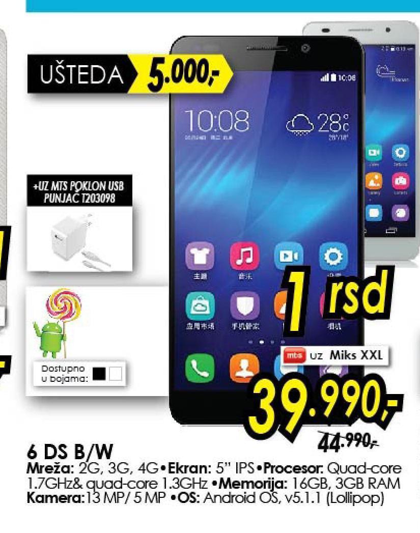 Mobilni telefon 6 Ds B W