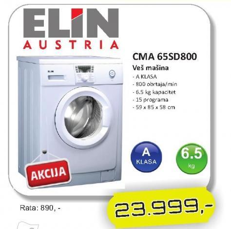 Mašina za veš CMA 65SD800