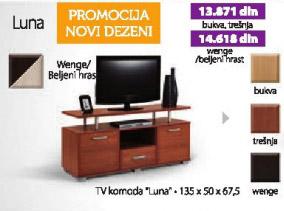 Komoda TV Luna wenge