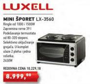 Mini šporet, električni LX-3560
