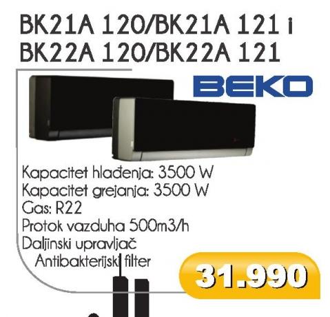 BK22A 120/BK22A 121